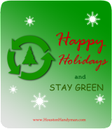 Go Green for The Holidays and Stay Safe